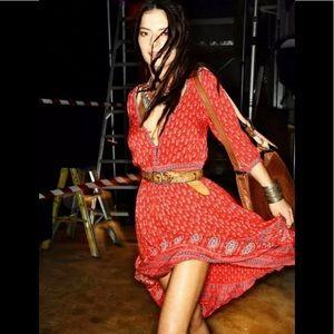 Spell & The Gypsy Gypsiana Maxi Dress Red Bandana